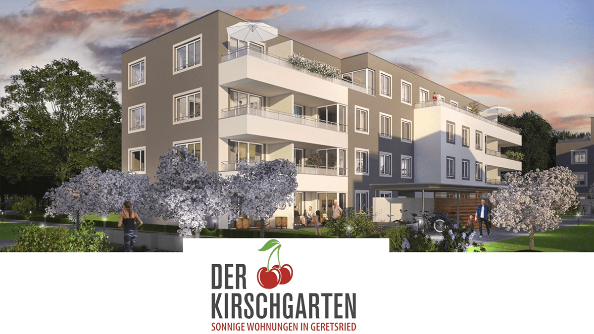 Neubau Geretsried Kirschgarten Video