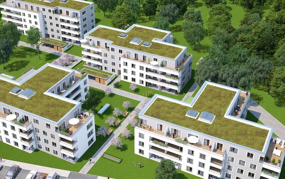 Kirschgarten Neubauvorhaben München Süd