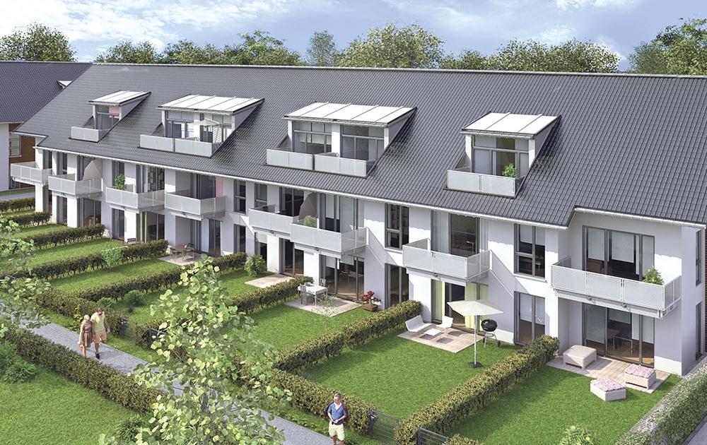 Unterhaching Neubau moderne Wohnungen