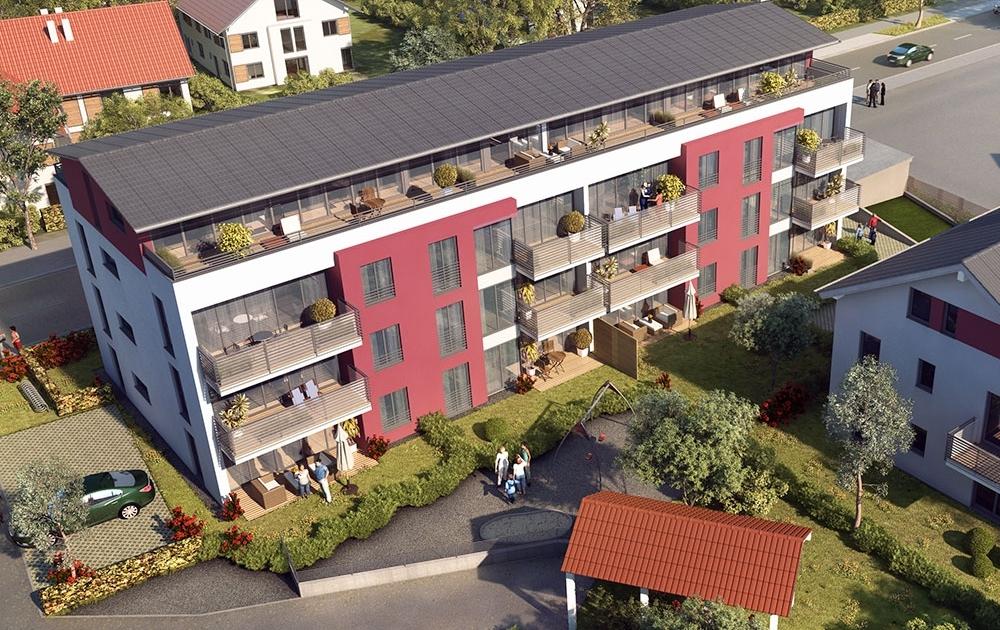 Wolfratshausen Neubau Eigentumswohnungen