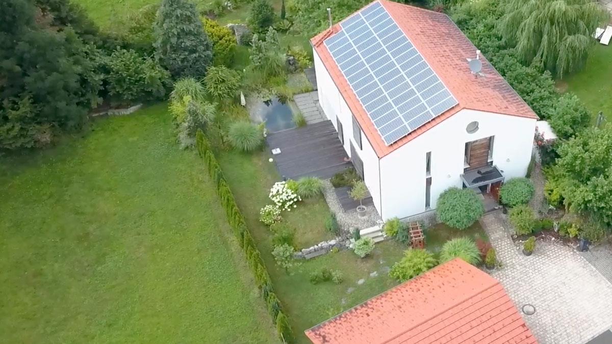 Moderne Einfamilienhaus Muenchner Umland