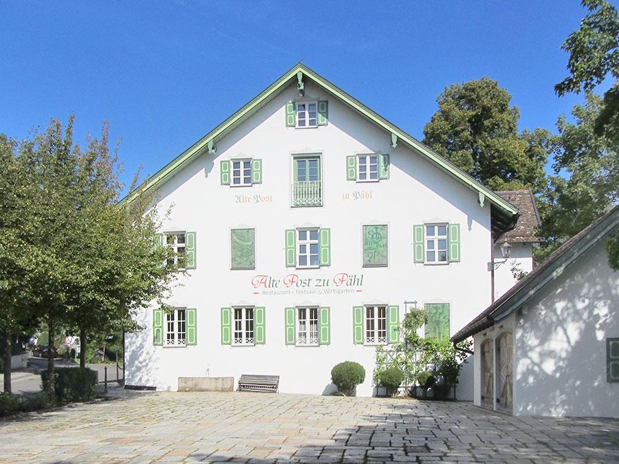 Gastroimmobilien: Gasthaus Pähl: Zur Post