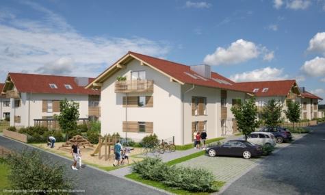 Holzkirchen – tolle 3 Zimmer Neubauwohnung im Dachgeschoss, 83607 Holzkirchen, Dachgeschosswohnung