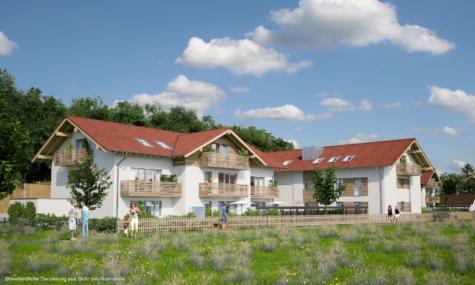 3 Zimmer Neubau Wohnung (2.6) in Holzkirchen mit tollem Grundriss, 83607 Holzkirchen, Etagenwohnung