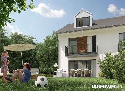 Bestes Geretsried: Ruhiges Reiheneckhaus mit großem Südwest-Garten – Neubau, 82538 Geretsried, Haus